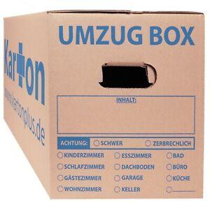 Umzugskartons 620 x 300 x 330 mm doppelter Boden Umzug Karton