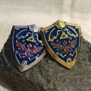 Legend of Zelda Hyrule Shield Pin 2 Colours