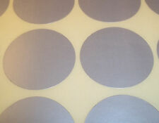 100 Silver 15mm 1/2 Inch Colour Code Dots Round Stickers Sticky ID Labels