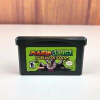 Mario & Luigi Superstar Saga (GameBoy Advance GBA, 2003) Authentic Tested Cart