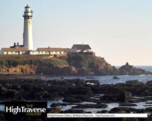 California, Pigeon Point Lighthouse-Color Fine Art Photo-8x10-COA-SIGNED!