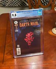 Star Wars: Darth Maul #1 (2000) CGC 9.8 Extremely Rare Pop 10.  Gorgeous