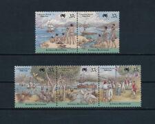 Christmas Islands  213a-e MNH, Australian Bicentennial, 1988
