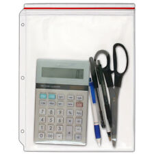 Storesmart Supply Zipper Case For 3 Ring Binders 5 Pack Vinyl Plastic Vh309 5