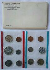1969 US Mint Set 1969 D/D Washington Quarter