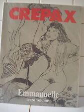 Crepax Emmanuelle Terzo volume Suppl. a Blue n. 30 1993. (MX)
