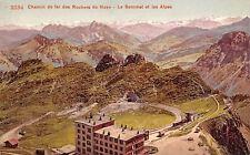 Switzerland Chemin de fer des Rochers de Naye - Le Sommet et les Alpes
