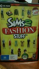 The Sims 2 Fashion Stuff  PC GAME - FREE POST *