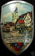 Ruhmannsfelden stocknagel medallion badge G4871