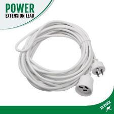 10m Power Extension Cord/Lead/Cable Mains 240V/10A AMP AU 3-PIN Conneector Plug