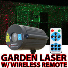Moving Firefly Waterproof Garden Laser Lighting Red Green Party Christmas Lamp