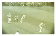 Nostalgia Postcard 1950 Cricket West Indies v Cambridge University Repro NS40