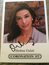 6x4 Hand Signed Photo of Coronation Street Sunita - Shobna Gulati Dinnerladies