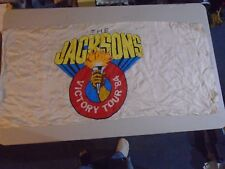 Jackson 5 Victory Tour Double Sided Test Banner