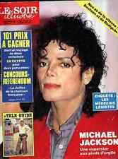 MICHAEL JACKSON Full-Cover 1988 Thriller Shirley TEMPLE