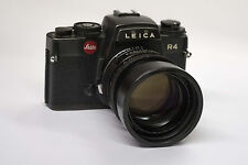 Leica Objektiv Summicron-R 1:2/90 und Leica R 4