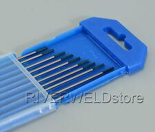 TIG Welding Tungsten Electrodes Pure WP Green 1.6mm x 150mm,10PK