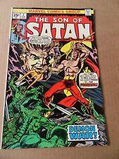 Son of Satan  2 .  Sonny Trininad, / Origin Possessor  - Marvel 1976 - FN +