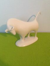 Vintage Royal Dux Bohemia Bull Animal Porcelain Figurine (Beautiful)