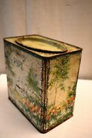 "Vintage Pare Confectionery Works The Hague Holland Tin Advertising Box Rare ""1"