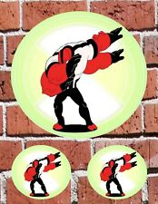 """BEN 10 4 ARMS DAB - 7"""" and 3"""" DECAL STICKERS for HOME, SCHOOL, AUTO, LAPTOP"""