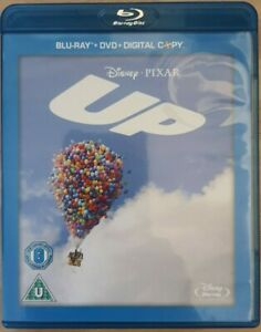 Disney Pixar Up Blu-Ray, DVD, Digital Copy 4 Disk Edition