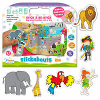 Stickabouts glue-free stickers for use all around the house - 11 sets to choose