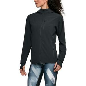Under Armour Womens OutRun The Storm Black Running Coat Athletic S BHFO 1551