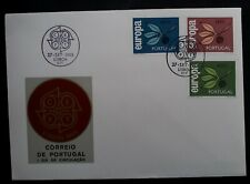 1965 Portugal Europa CEPT FDC ties set of 3 stamps cancelled Lisbon