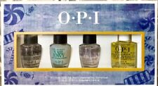 OPI 4pc Mini Polish Set RAPIDRY NAIL ENVY START TO FINISH ProSpa CUTICLE OIL '18
