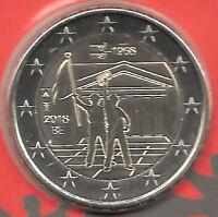 2 Euros Belgica 1ª 2018 50 años de mayo 1968 Emision nº 20