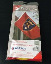 New REAL SALT LAKE Football Club - Official MLS Soccer Team 3x5 ft Red Flag