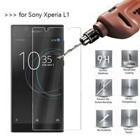 Premium Gorilla Tempered Glass Screen Protector Guard Film For Sony Xperia L1