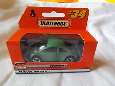 MATCHBOX 34 MADE IN CHINA VW CONCEPT 1 GREEN