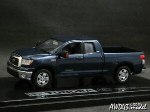 Toyota Tundra 2007 d.blue 4x4 4WD 1-43 Ltd Ed Toyota Promo SL  RARE!