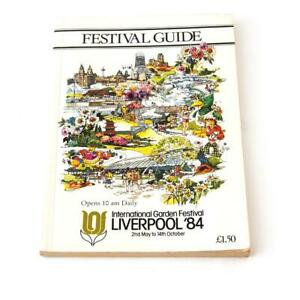 Vintage Liverpool Garden Festival Guide Book 1984 2nd May to 14th Oct FREE Post