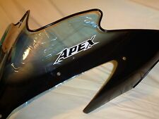 YAMAHA SNOWMOBILE WINDSHIELD BLACK TRIM LOW 7 8FS- 77210 -00  APEX ATTACK  RX 1