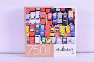 Big Ben 750 Piece Puzzle - Hot Wheels - Bunch of Cars
