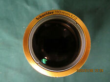 Schneider 110mm fl  Cinelux Ultra 35mm or 70mm Cine projection Lens