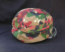 Helmet Cover. Swiss Camouflage Alpenflage. Cotton twill. New.