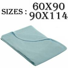 Baby Cellular Blanket Super Soft Cosy Polyester New Born Boy Girl Pram Cot Bed