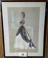 1950 Virginia Fisher Original Signed Ava Gardner The Great Sinner Costume Sketch