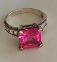 Vintage silver 925 ring size N 1/2