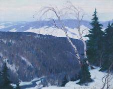 Gagnon Alphonse Clarence Winter Solitude Print 11 x 14    #4196