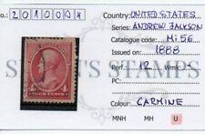 SStamps United States 1888.Andrew Jackson stamp  Mi56  4C  2010004
