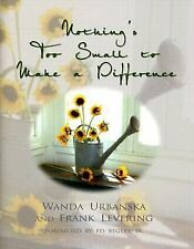 Nothing's Too Small to Make a Difference, Levering, Frank, Urbanska, Wanda, 0895