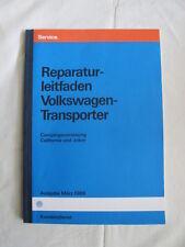 VW t3 Joker + California reparación instrucciones reparación guía camping equipamiento