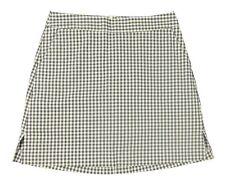 Lady Hagen - NWT Women's White/Gray Carroll Gingham Golf Skort - Sizes: 2, 14