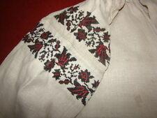 Vintage Ukrainian embroidered shirt Poltava region # 101