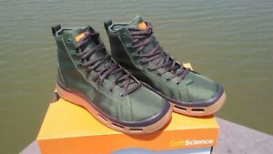 Soft Science Men's The Terrafin Fly Fishing Boots / Shoes Sage sz.10..